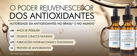 O poder rejuvenescedor dos antioxidantes